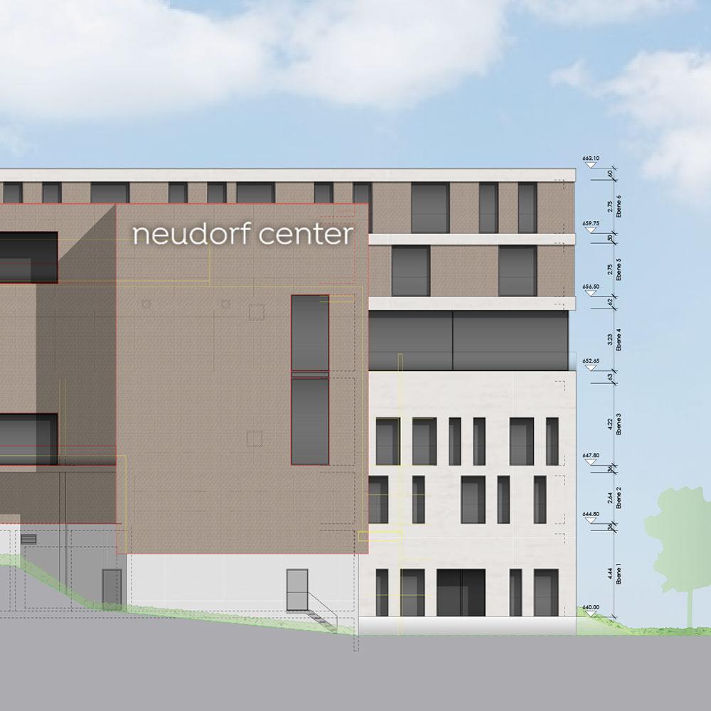 Signaletik Neudorf Center St.Gallen